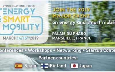 Energy for Smart Cities Forum | March 14 – 15, 2019 | Marseille, France