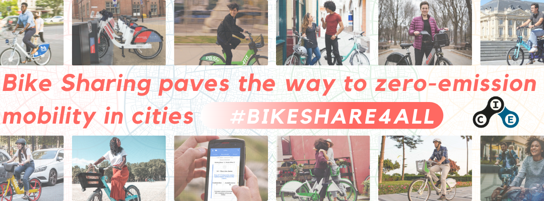 Bike sharing paves the way to zero emission mobility in cities